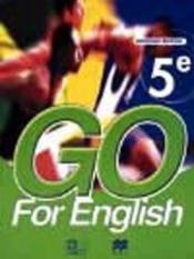 Go For English 5e (Senegal) - Couverture - Format classique