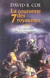 La Couronne Des 7 Royaumes T.3 ; Les Graines De La Discorde - Intérieur - Format classique
