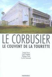 Le couvent de la tourette ; le corbusier - Intérieur - Format classique