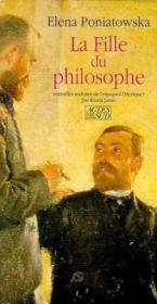 La Fille Du Philosophe - Couverture - Format classique