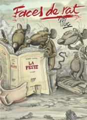 Faces de rat - tome 01 - Couverture - Format classique
