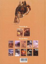 Faces de rat - tome 01 - 4ème de couverture - Format classique