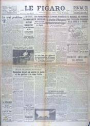 Figaro (Le) N°802 du 11/04/1947 - Couverture - Format classique