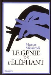 Le génie de l'éléphant - Couverture - Format classique