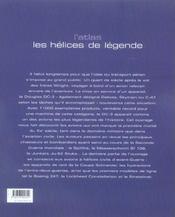L'Atlas Les Helices De Legende - 4ème de couverture - Format classique