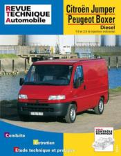 Rta 583.1 Jumper I / Boxer I : 1.9 Et 2.5 Diesel - Couverture - Format classique