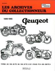 Peugeot 125-150-175 Et 250 Cc (1949/1955) N 104 - Couverture - Format classique