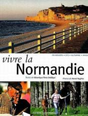 Vivre la normandie - Couverture - Format classique