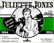 Juliette Jones t.2 ; 1954-1955 - Couverture - Format classique