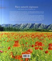 Les parcs naturels régionaux ; une autre vie s'invente ici - 4ème de couverture - Format classique