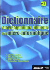 Dictionnaire De La Micro-Informatique - Intérieur - Format classique