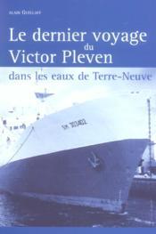 Dernier Voyage Du Victor Pleven - Couverture - Format classique