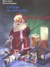 Collage De Serviettes Pour Noël - Intérieur - Format classique