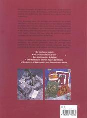 Collage De Serviettes Pour Noël - 4ème de couverture - Format classique