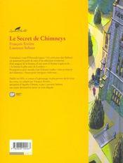 Agatha Christie t.1 ; le secret de Chimneys - 4ème de couverture - Format classique