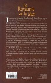 Le sang des hauteville t.2 ; le royaume sur la mer - 4ème de couverture - Format classique