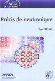 Precis De Neutronique - Intérieur - Format classique