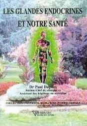 Glandes endocrines et notre sante - Couverture - Format classique