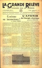 Grande Releve (La) N°20 du 01/05/1947 - Couverture - Format classique