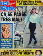 Ici Paris N°2523 du 10/11/1993 - Couverture - Format classique