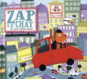 Zap le chat et son mini-taxi - Couverture - Format classique