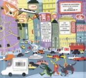 Zap le chat et son mini-taxi - 4ème de couverture - Format classique