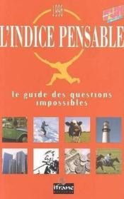 L'Indice Pensable  - Collectif