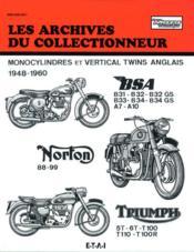 Bsa - Norton - Triumph (1948/1960) N 105 - Couverture - Format classique