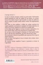 Base De Donnees Gradualite Et Imprecision Dans Les Bases De Donnees Ensembles Flous Requetes - 4ème de couverture - Format classique
