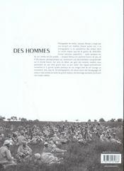 1914-1918, nous étions des hommes - 4ème de couverture - Format classique
