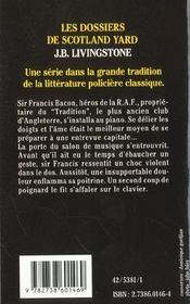 Meurtre A Quatre Mains - 4ème de couverture - Format classique
