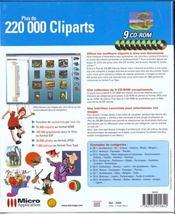 1, Plus De 220 000 Cliparts - 4ème de couverture - Format classique