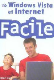 Windows Vista et internet facile - Intérieur - Format classique