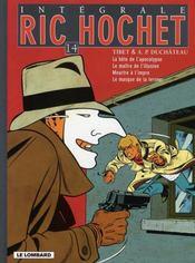 Integrale Ric Hochet T.14 ; Ric Hochet - Intérieur - Format classique