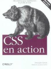 Css En Action - Intérieur - Format classique