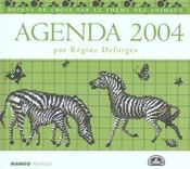 Point De Croix Sur Le Theme Des Animaux ; Agenda 2004 - Intérieur - Format classique