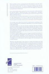 Termites. Biologie, Lutte, Reglementation. Europe, Dom Et Tom Francais - 4ème de couverture - Format classique