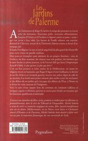 Le Sang Des Hauteville T.3 ; Les Jardins De Palerme - 4ème de couverture - Format classique