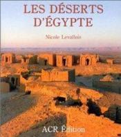 Deserts Egypte - Couverture - Format classique