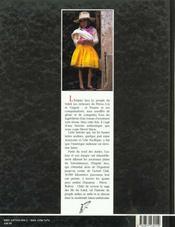 Cordilliere Des Andes - 4ème de couverture - Format classique