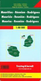 Ile Maurice Reunion Rodriguez - 4ème de couverture - Format classique