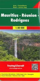 Ile Maurice Reunion Rodriguez - Couverture - Format classique