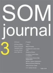 Som Journal 3 /Anglais - Couverture - Format classique