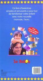 Utiliser Facilement L'Euro ; Autocolant - 4ème de couverture - Format classique
