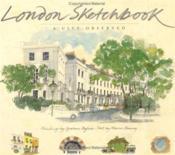 London Sketchbook /Anglais - Couverture - Format classique