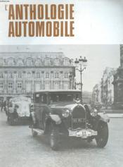 L'Anthologie De L'Automobile N°38 - Couverture - Format classique
