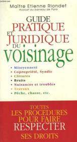 Guide Pratique Juridique Voisinage - Couverture - Format classique