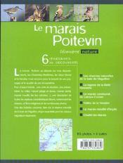 Le marais poitevin - 4ème de couverture - Format classique