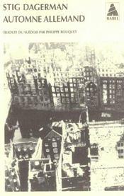 Automne Allemand Babel 652 - Intérieur - Format classique