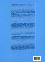 Le Lombard, l'aventure sans fin t.1 ; 1946-1969 - 4ème de couverture - Format classique
